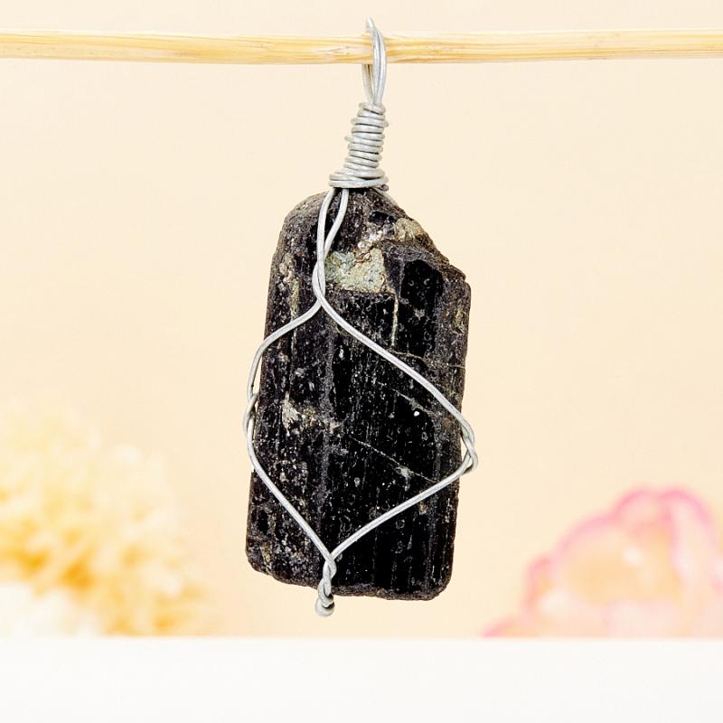 Black tourmaline crystal