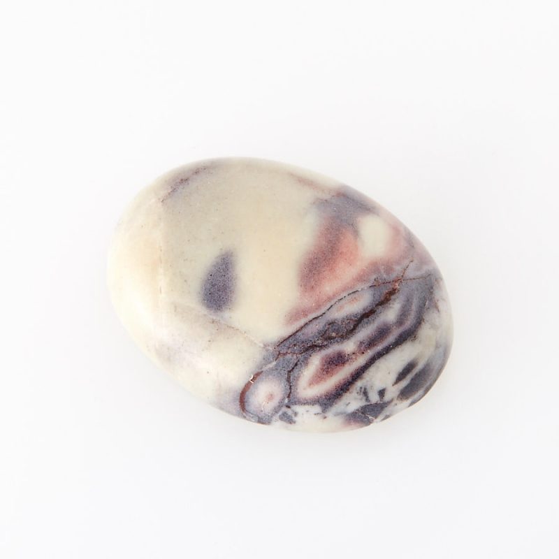 Кабошон яшма мраморная  12*16 мм