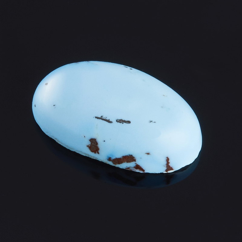 Кабошон бирюза  7.5*12.5 мм