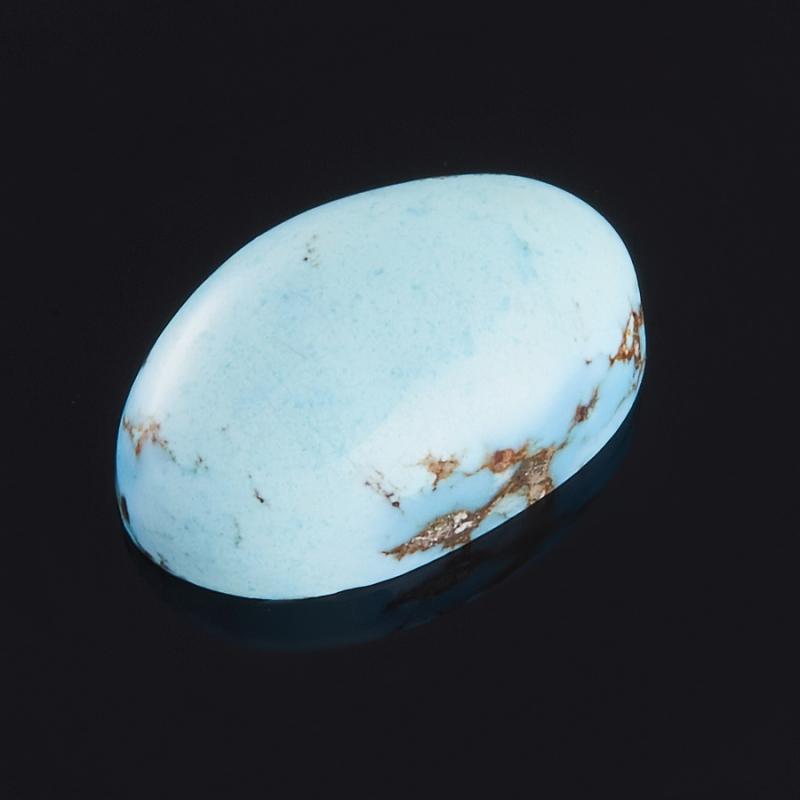 Кабошон бирюза  8.5*13 мм