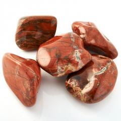 Галтовка яшма красная ЮАР (5-6 см) 1 шт