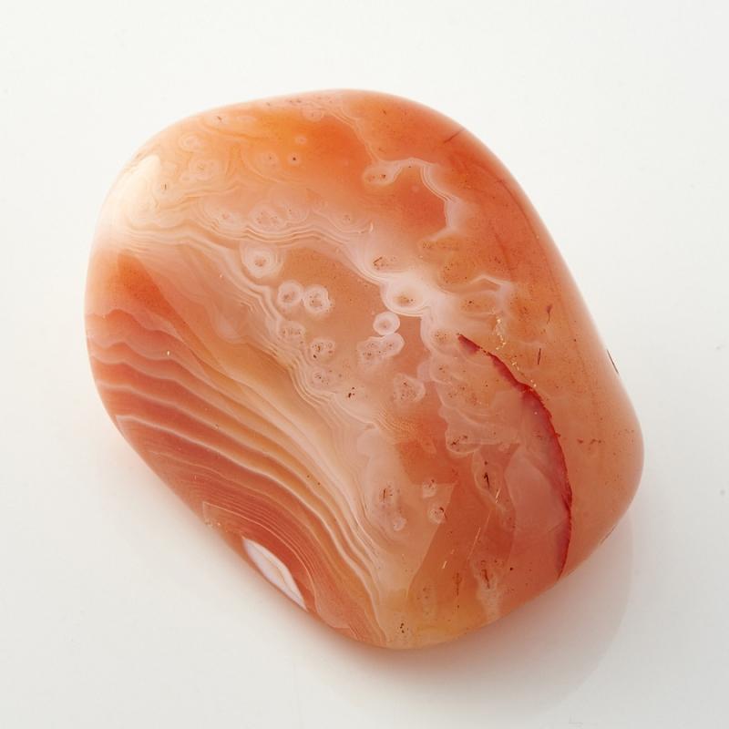 Галтовка Агат абрикосовый Ботсвана (4-5 см) 1 шт
