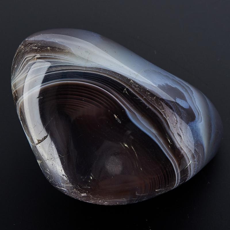 Галтовка агат серый Ботсвана (5-6 см) 1 шт