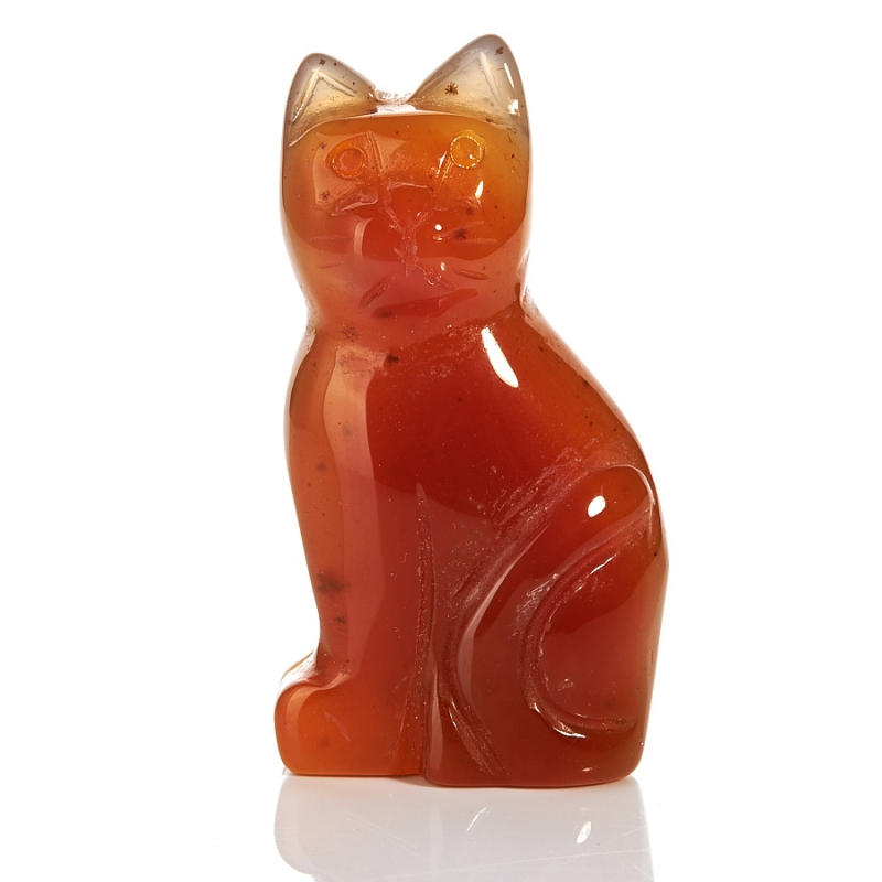 Котик сердолик 5 см цена