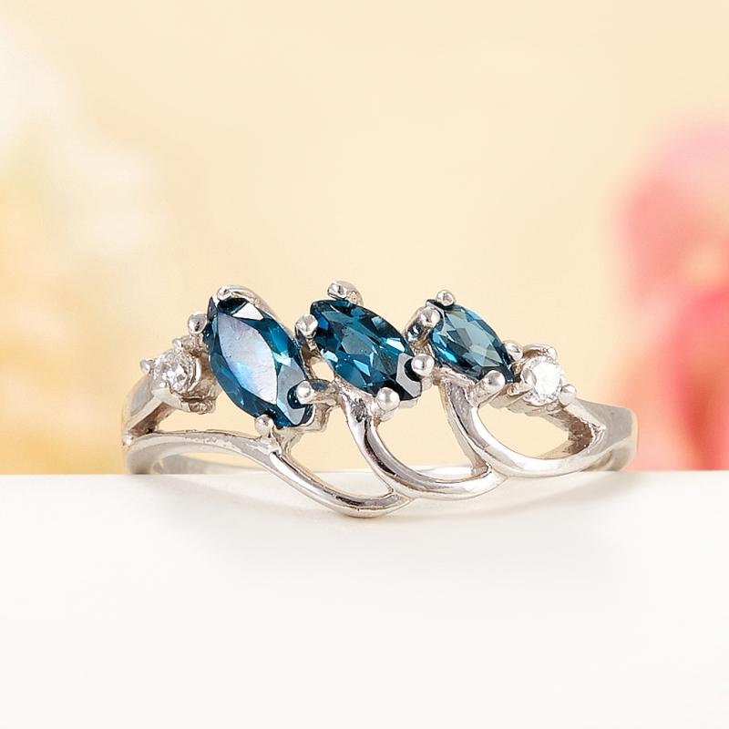 Кольцо топаз лондон огранка (серебро 925 пр.) размер 20 кольцо коюз топаз кольцо л22501021