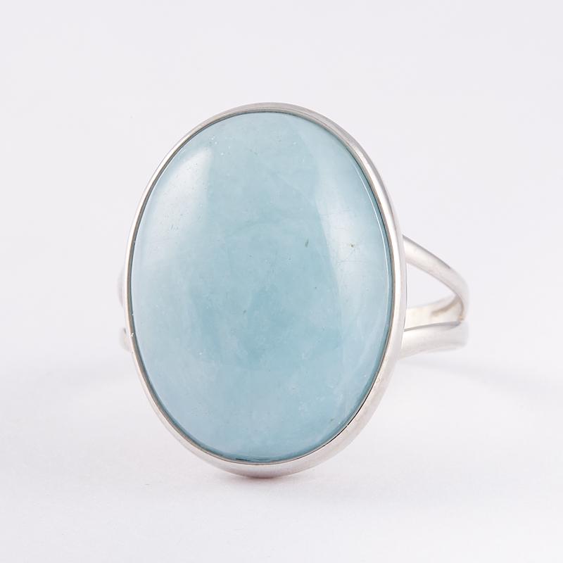 Кольцо аквамарин  (серебро 925 пр.) размер 19 кольцо авантюрин зеленый серебро 925 пр размер 18