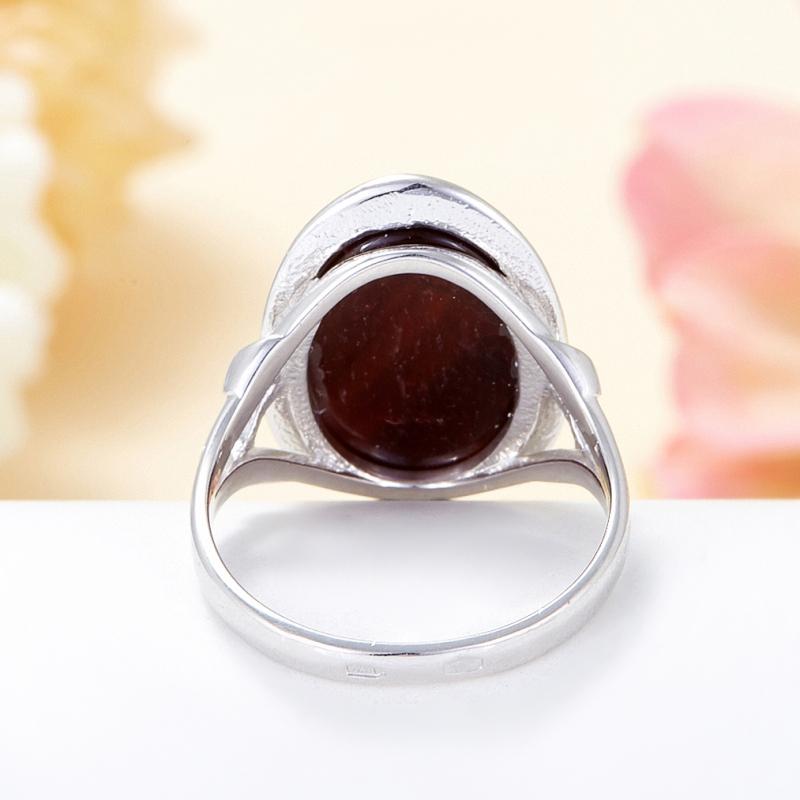 Кольцо бычий глаз ЮАР (серебро 925 пр.) размер 18,5