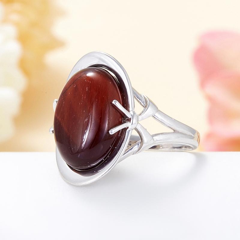 Кольцо бычий глаз ЮАР (серебро 925 пр.) размер 22