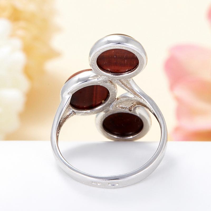 Кольцо бычий глаз ЮАР (серебро 925 пр.) размер 19,5
