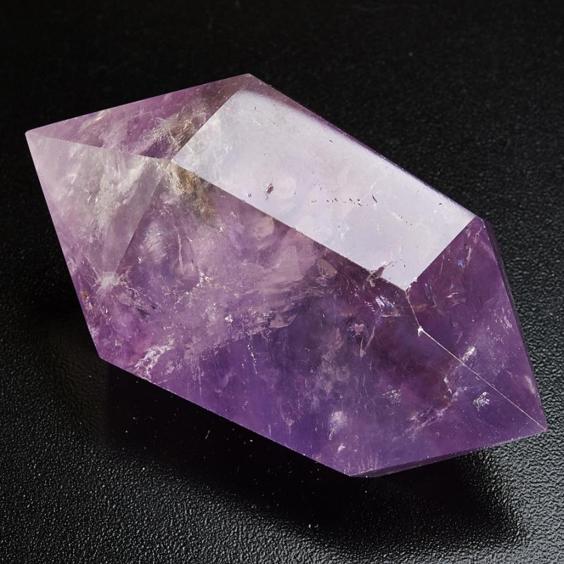 Двухголовый кристалл Аметиста Бразилия (ограненный)