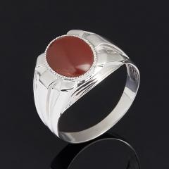 Кольцо яшма красная ЮАР (серебро 925 пр.) размер 22,5