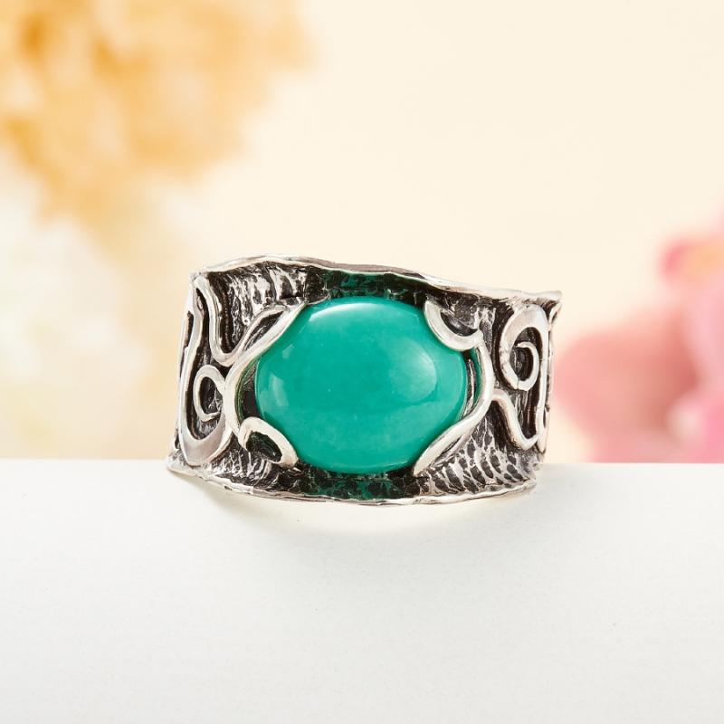 [del] Кольцо бирюза Тибет (серебро 925 пр.) размер 24,5