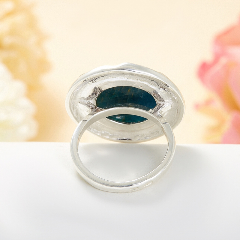 Кольцо апатит Бразилия (серебро 925 пр.) размер 22,5
