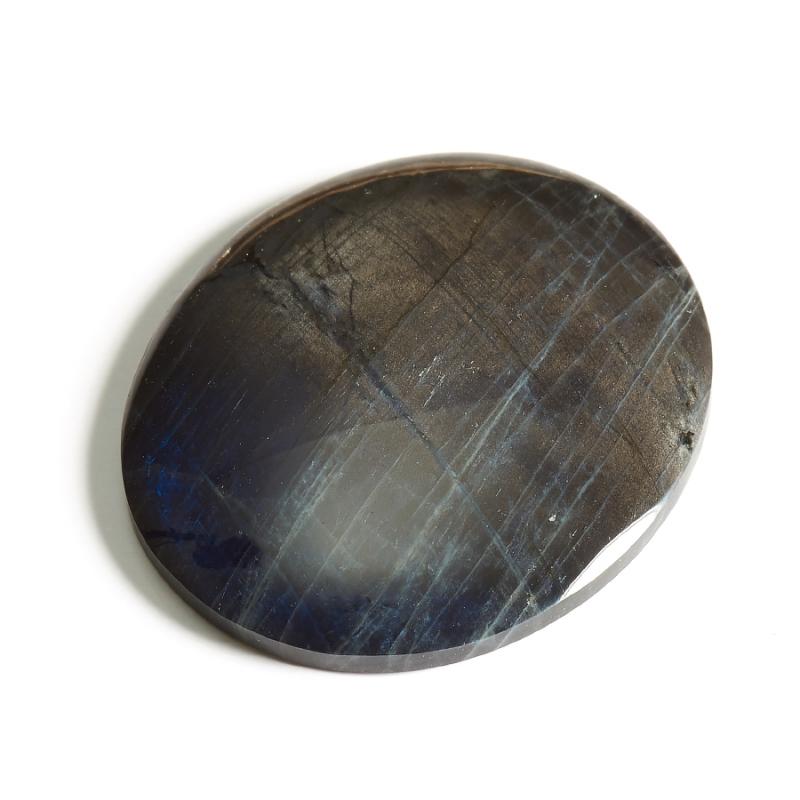 Кабошон лабрадор (спектролит)  32х37 мм