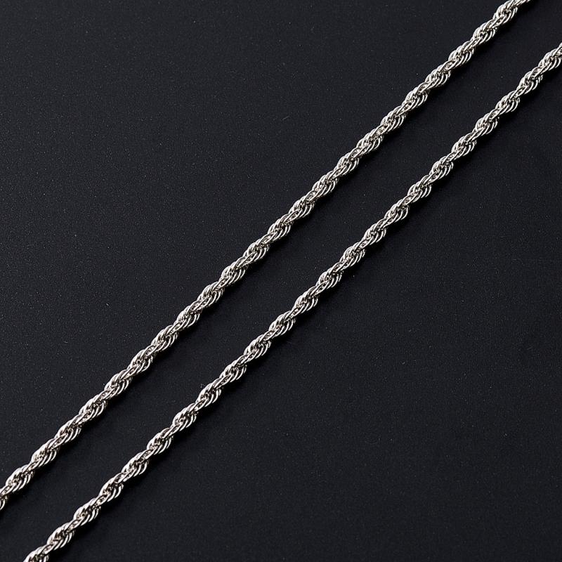 Цепь полновесная трипла кордино (серебро 925 пр.)  45 см браслет цепь moonlight vsbc267 925