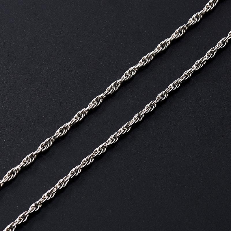 Цепь полновесная форцатина 60 см  (серебро 925 пр.)