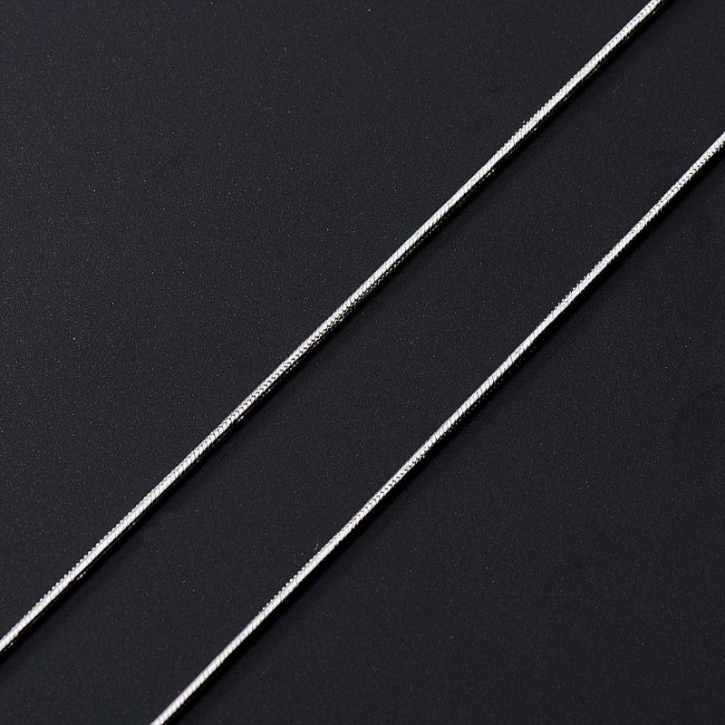 Цепь полновесная снейк (серебро 925 пр.)  40 см женская цепь красцветмет золотая цепь ndнц 12 084 d 0 40 40