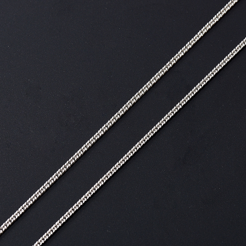 Цепь полновесная панцирь 40 см  (серебро 925 пр.) женская цепь красцветмет золотая цепь ndнц 12 084 d 0 40 40