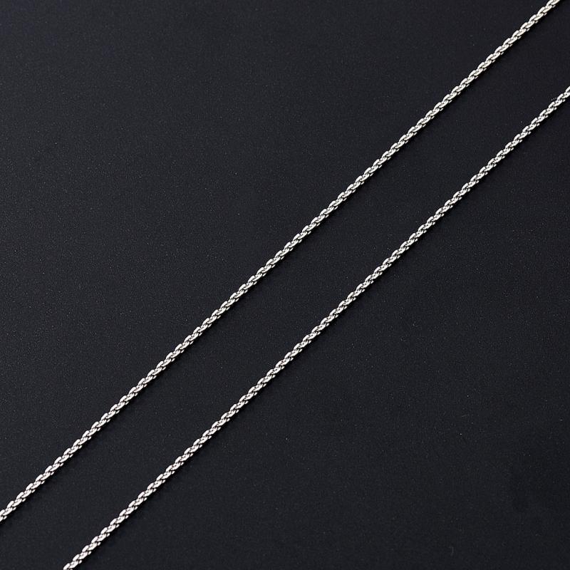 Цепь полновесная якорь 55 см  (серебро 925 пр.)