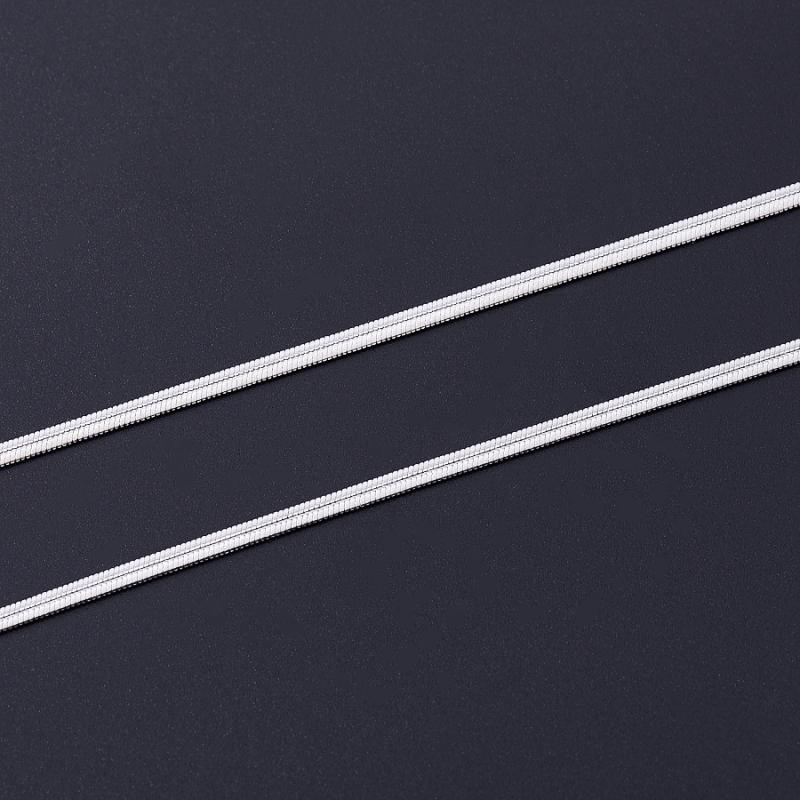 Цепь полновесная снейк (серебро 925 пр.)  55 см браслет цепь moonlight vsbc267 925