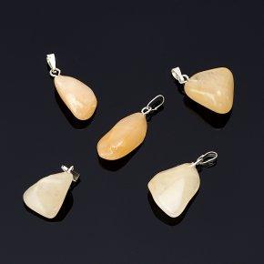 Кулон авантюрин желтый Индия 1,5-2,5 см