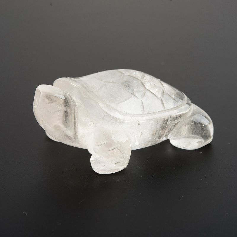 Черепаха горный хрусталь 3 см куб горный хрусталь 3 см 1 шт