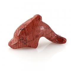 Дельфин яшма красная ЮАР 5 см