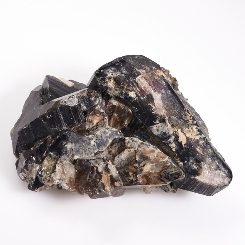 Кристалл турмалин полихромный  М 5х8х11 см