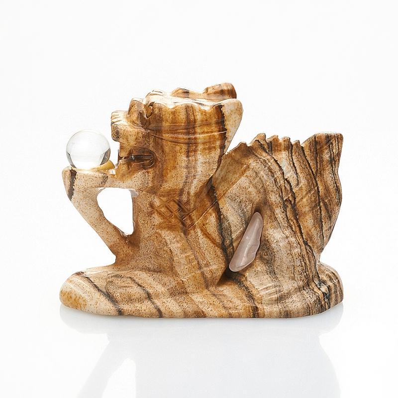 Дракон яшма рисунчатая Намибия 5 см
