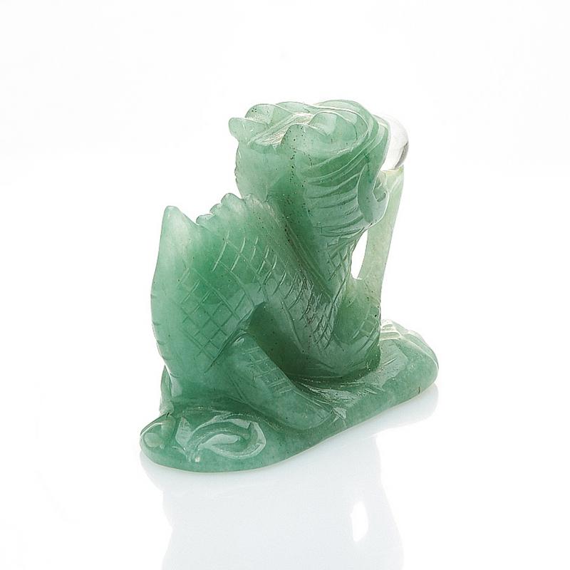 Дракон авантюрин зеленый Зимбабве 5 см