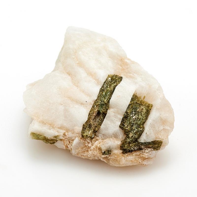 Кристалл в породе турмалин зеленый S zogaa зеленый цвет номер s