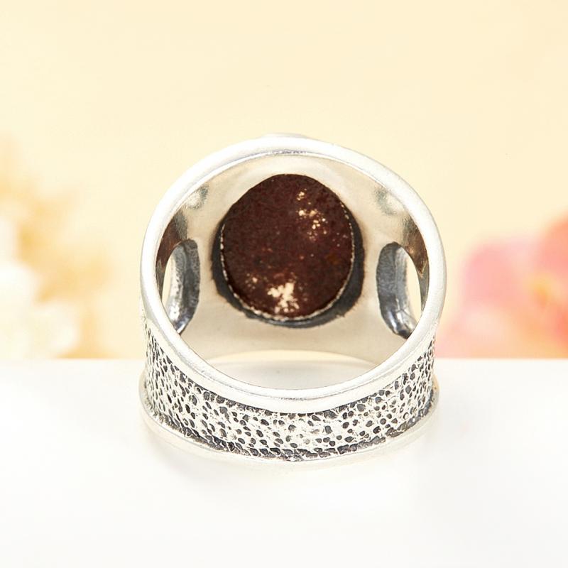 [del] Кольцо кварц Бразилия (серебро 925 пр.) размер 18
