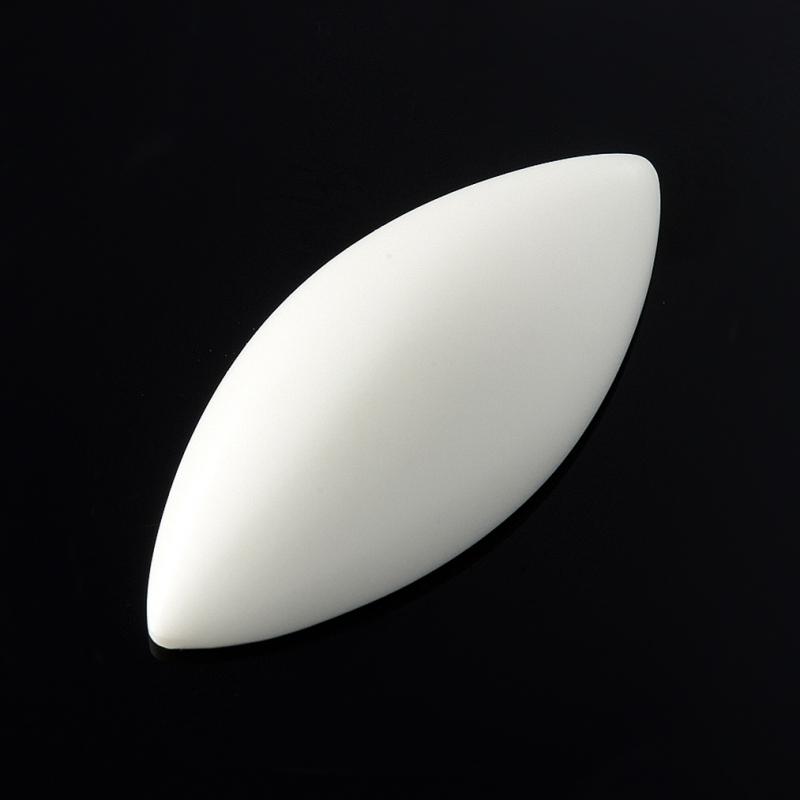 Кабошон кахолонг  13*31 мм
