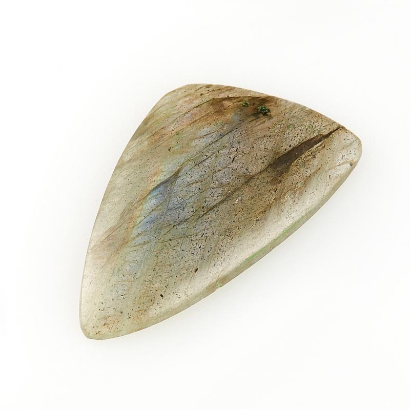 Кабошон лабрадор  16*29 мм кабошон нефрит зеленый 10 16 мм