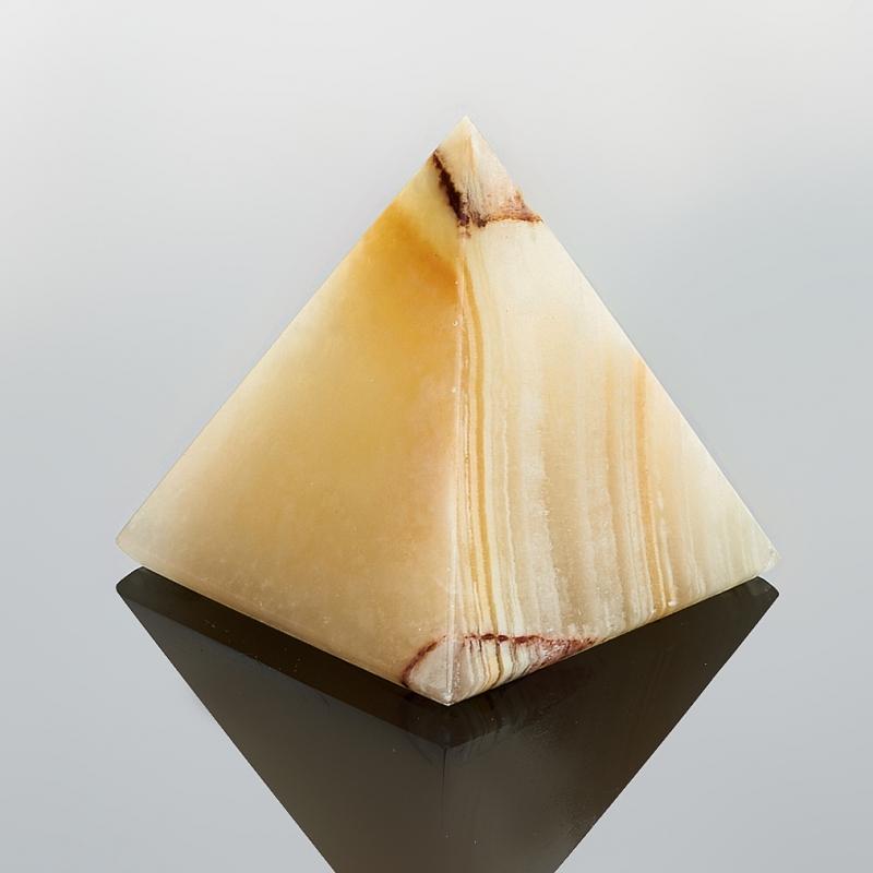 Пирамида оникс мраморный 3,5-4 см пиала оникс мраморный 12х4 см
