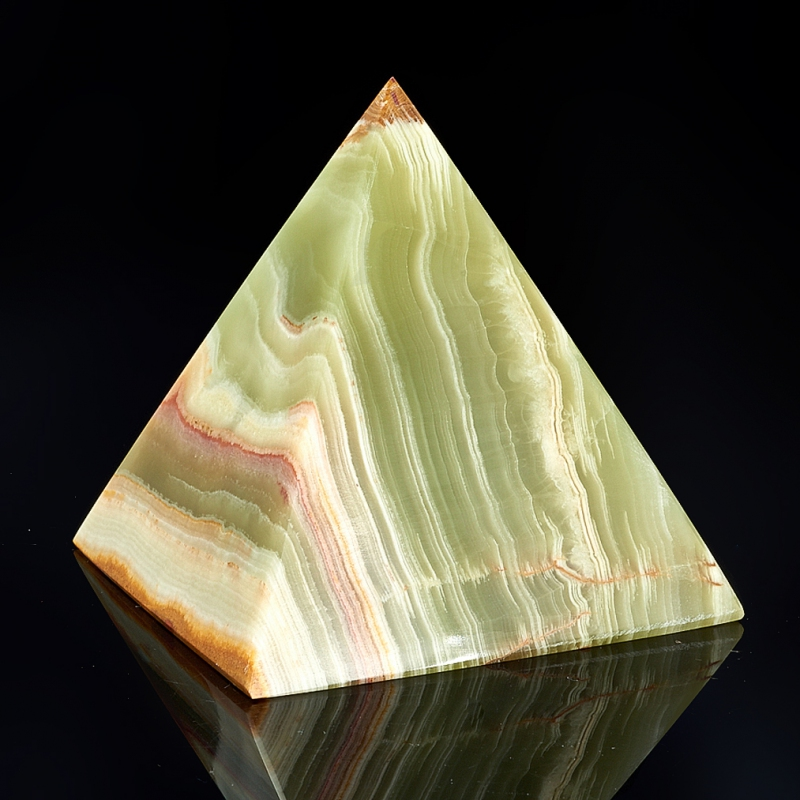 Пирамида оникс мраморный Пакистан 8 см