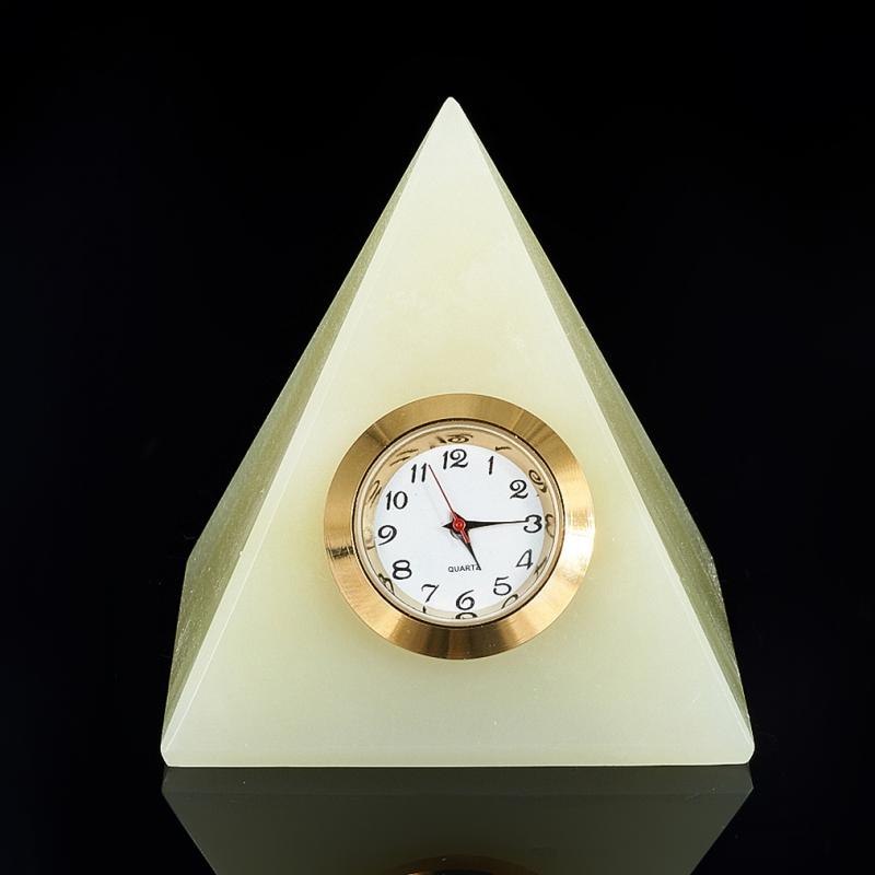 Часы пирамида оникс  6-6,5 см пирамида шунгит лечебный 2 5 3 см