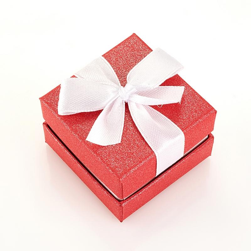Подарочная упаковка под кольцо/серьги 44х44х31 мм