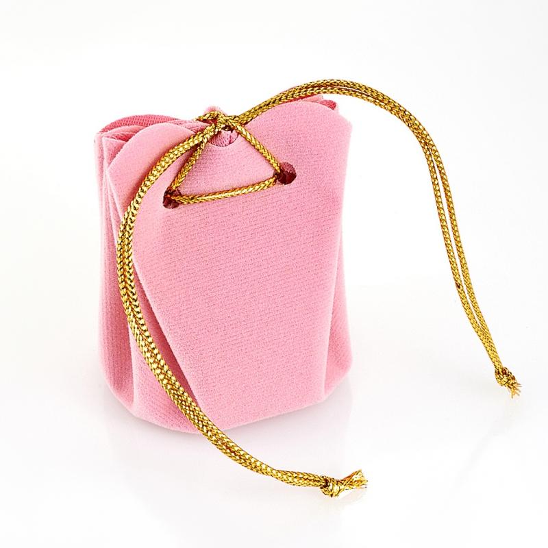Подарочная упаковка универсальная (мешочек объемный розовый) 40х40х60 мм