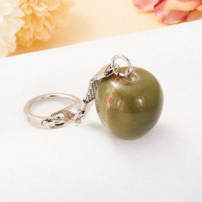 Брелок яблоко оникс Пакистан 2,5 см