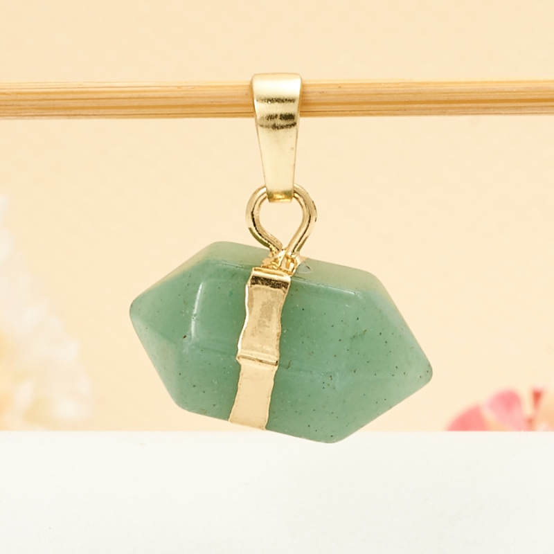 Кулон авантюрин зеленый 2 см vicking 2