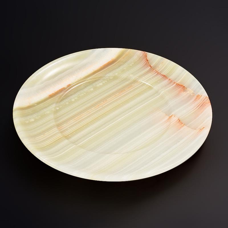 Тарелка оникс мраморный 15 см