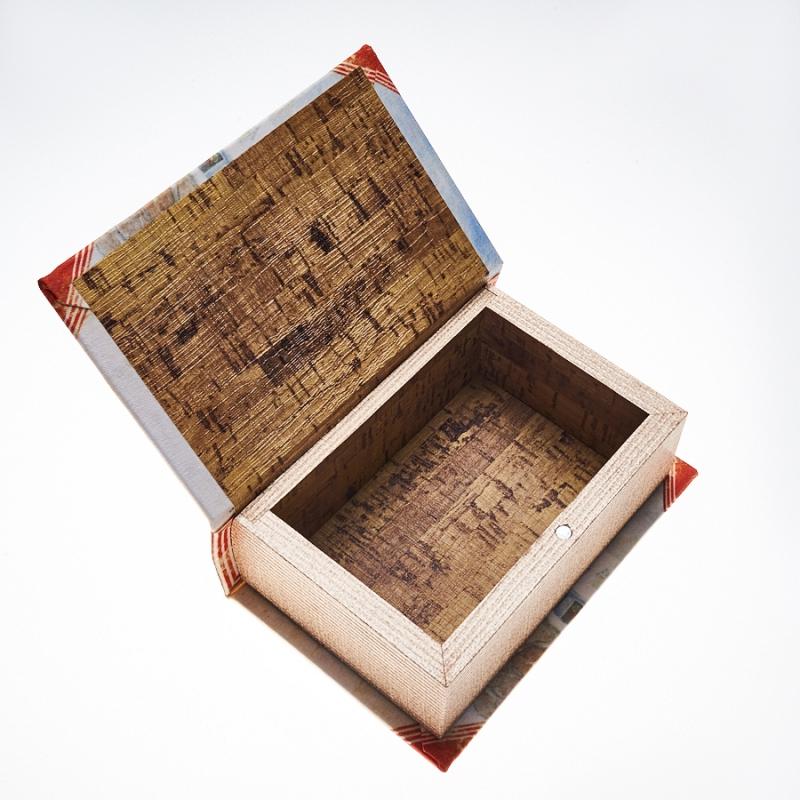 Шкатулка для хранения камней / украшений 14x9x4,5 см