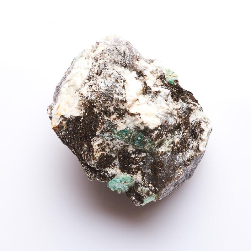 Кристалл в породе берилл  S