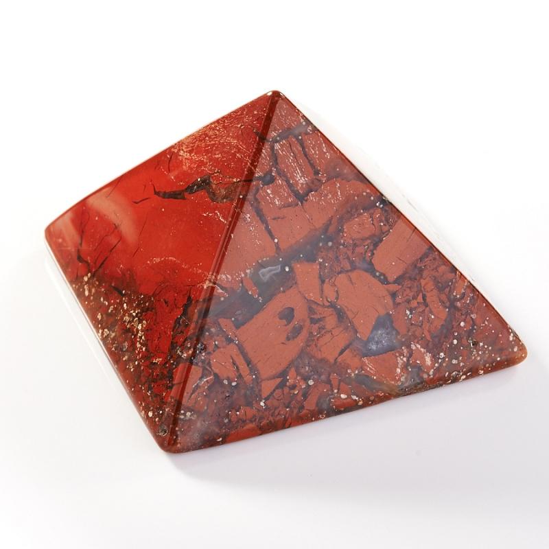 Пирамида яшма брекчиевая  5 см