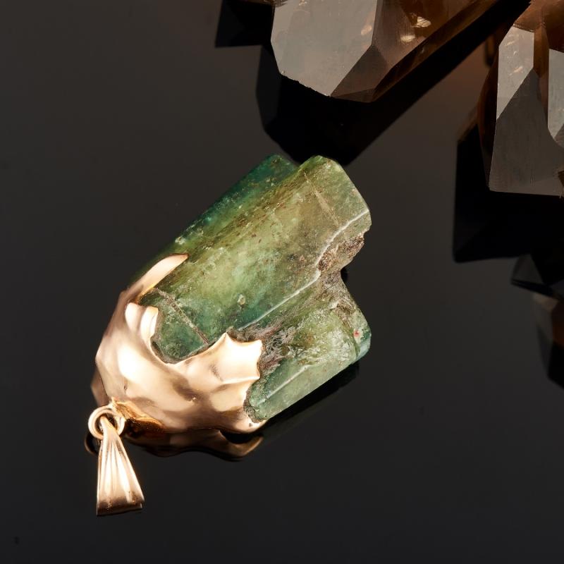 Кулон берилл Россия (золото 585 пр.)