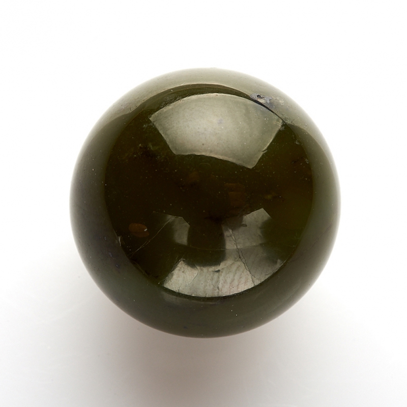 Шар нефрит зеленый 20 мм шар пластик 140мм ярко зеленый