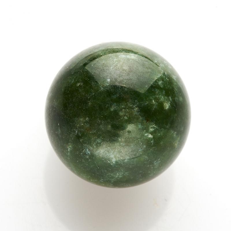 Шар нефрит зеленый 2 см стела нефрит зеленый m 3х6х13 см