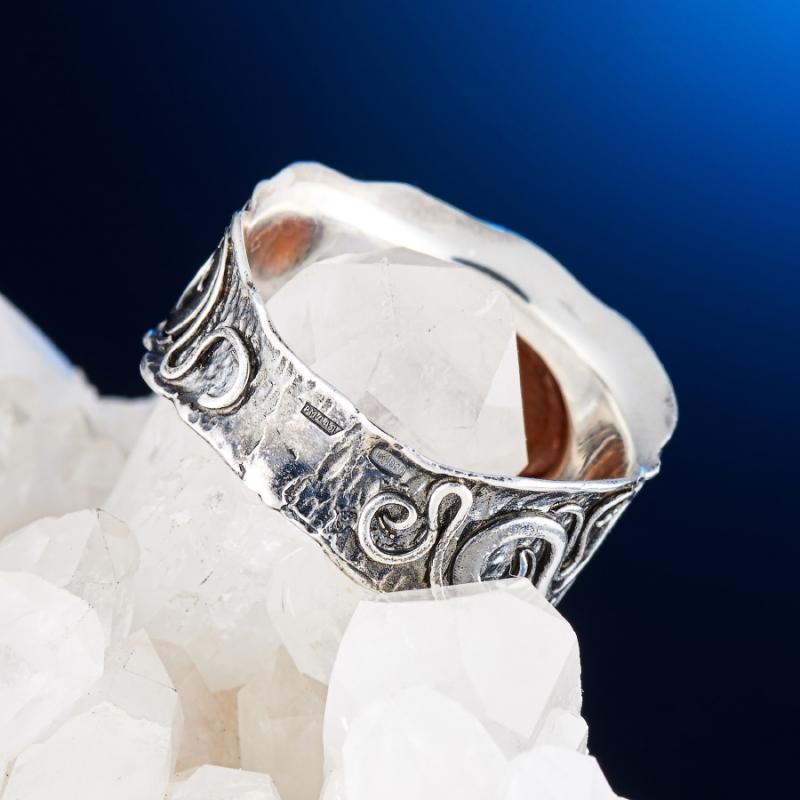 [del] Кольцо гранат спессартин Нигерия (серебро 925 пр.) размер 15,5