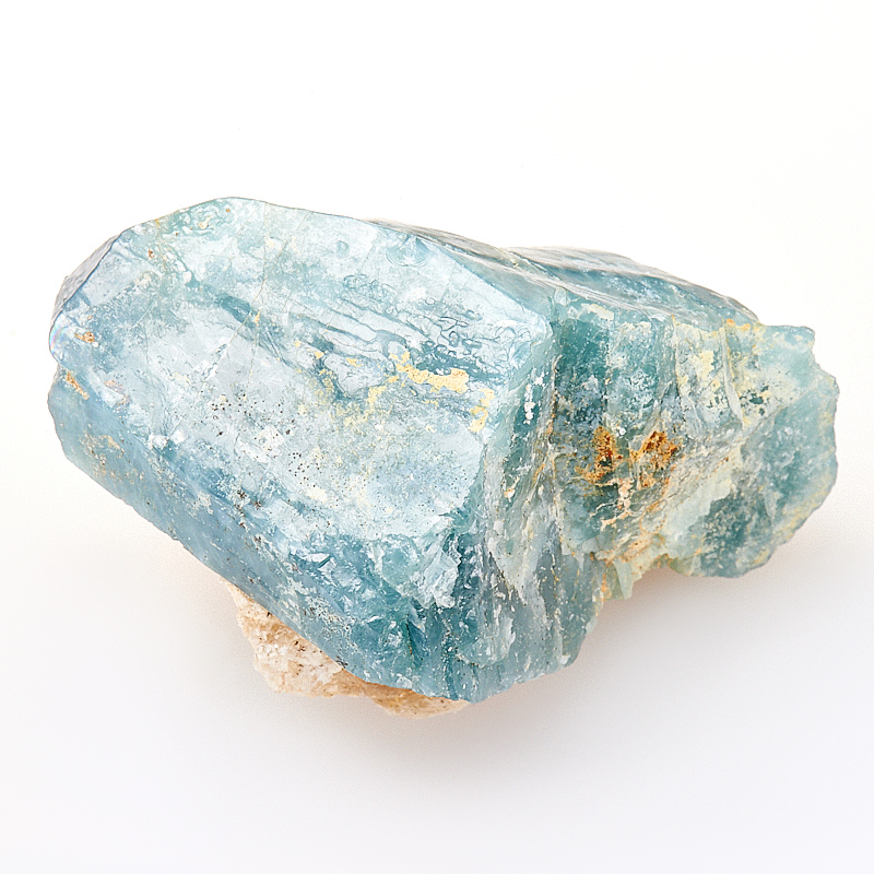 Кристалл апатит синий  S